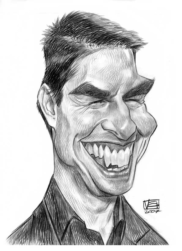 Caricature Portrait Drawing /how-to-draw-caricatures-1
